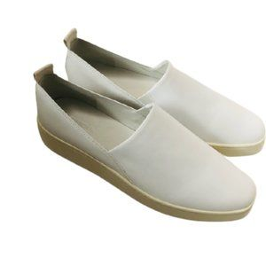 VINCE NWT White leather sneaker loafers SIZE: 9